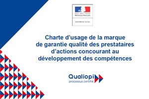 Charte d'usage Qualiopi développement des compétences
